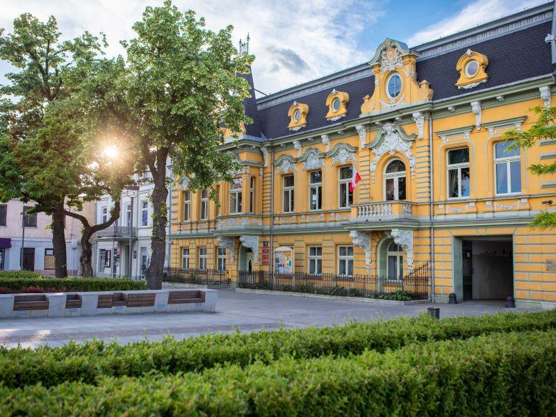 zdjęcie przedstawiam budynek miejskiego centrum kultury