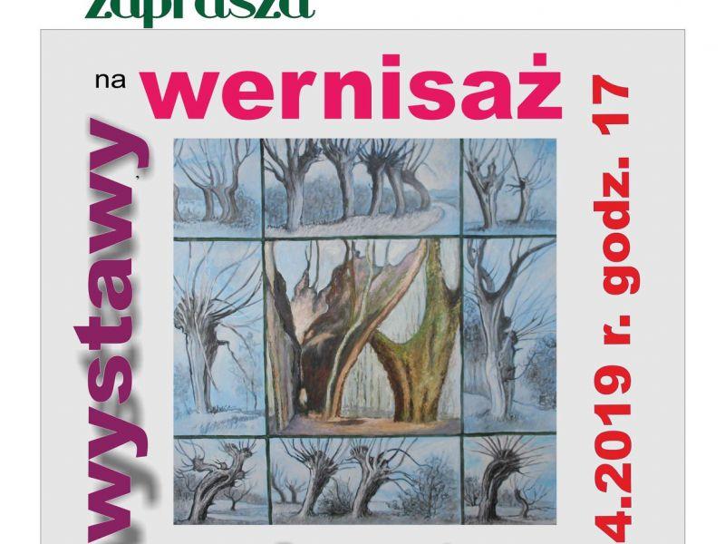 Zaproszenie na wernisaż wystawy Marii Bunzel