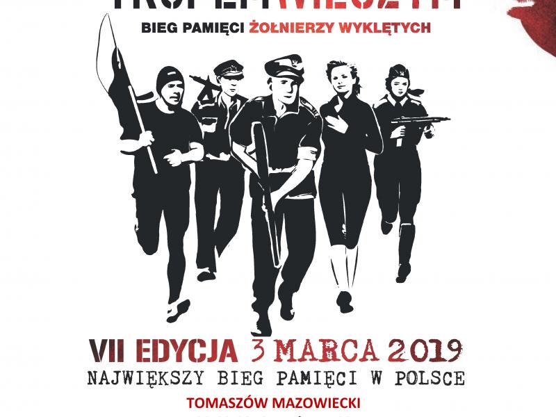 3 marca weź udział w biegu pamięci Żołnierzy Wyklętych!