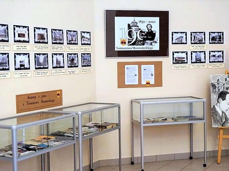 Wystawa w MBP z okazji 190-lecia Tomaszowa Mazowieckiego