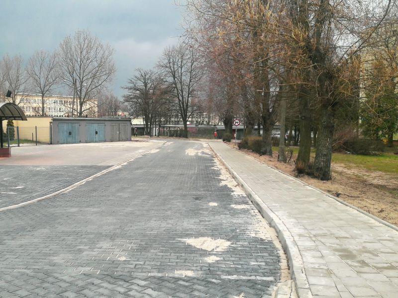 Przebudowa ul. Technicznej na finiszu