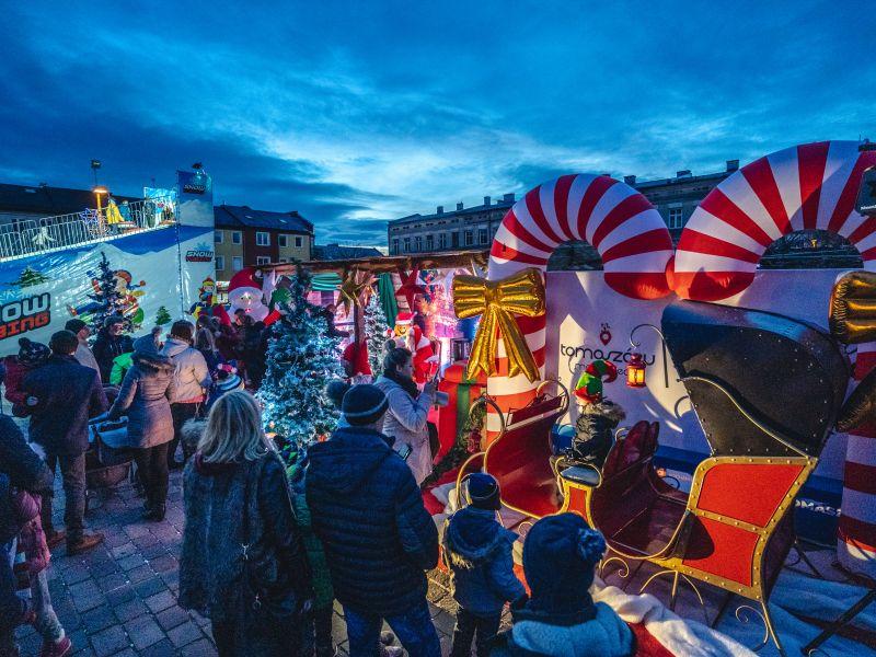 Świąteczna impreza na placu Kościuszki [ZDJĘCIA]