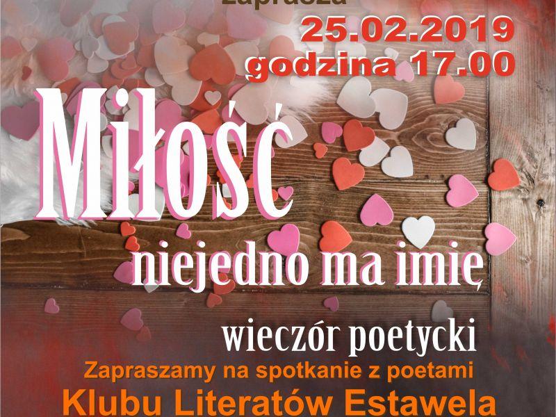 Miejskie Centrum Kultury zaprasza na wieczór poetycki