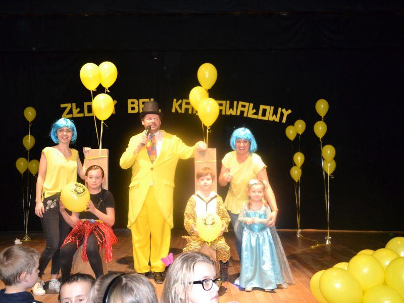 Złoty Bal Karnawałowy z Panem Buźką – relacja