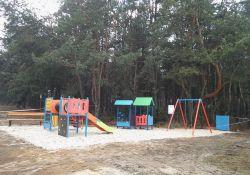 Nowy plac zabaw w Białobrzegach