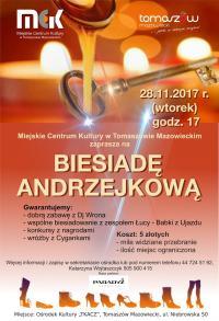 MCK zaprasza na Biesiady Andrzejkowe