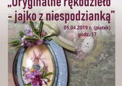 Zaproszenie na wiosenne warsztaty decoupage