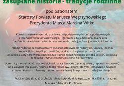 XVI edycja Powiatowego Konkursu literacko-plastycznego
