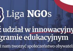 Weź udział w Lidze NGOs!