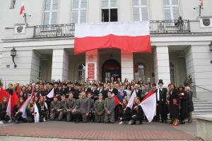 Rekonstrukcja historyczna z udziałem Ignacego Paderewskiego i Józefa Piłsudskiego