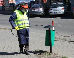ZDiUM dezynfekuje miejsca publiczne