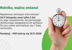 Powszechny Spis Rolny 2020 – ważna zmiana!