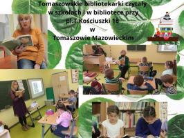 """Ogólnopolskie Czytanie """"Jeżycjady"""" z MBP"""