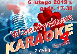 """""""Walentynkowe karaoke"""" w filii Tkacz"""