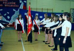 Uczniowie uczyli się patriotyzmu